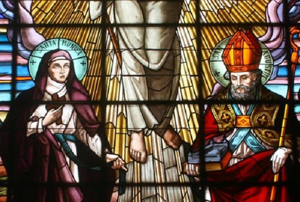 San Agustín y la Pascua